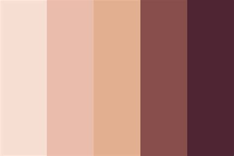 warm color palette warm antique color palette