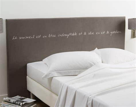 tete de lit en mousse housse motif 233 criture pour t 234 te de lit en mousse becquet