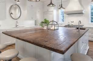 wood island tops kitchens 20 unique countertops guaranteed to make your kitchen stand out