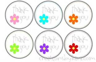 thank you tag template free printable thank you tags