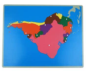 south america map puzzle montessori toys montessori material