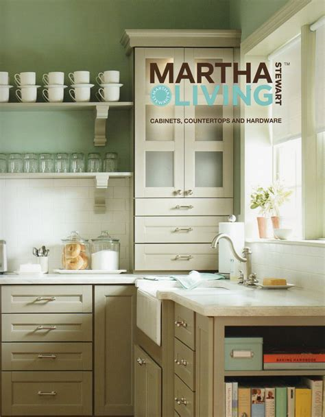 Martha Stewart Kitchen Countertops by House Blend Martha Stewart Living Cabinetry Countertops