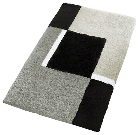 Oversized Bathroom Rugs Oversized Bath Rug Gray Contemporary Bath Mats Other Metro By Vita Futura