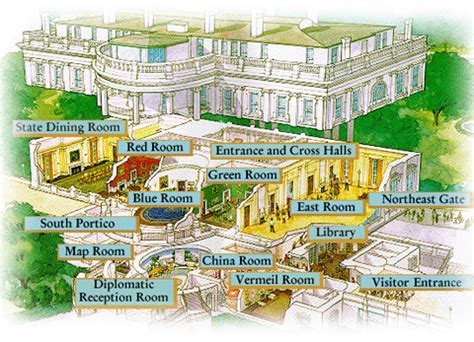 white house map how to get a free tour inside the white house mommy points