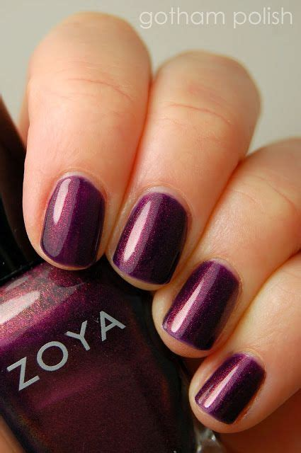 Lipstick Palette Zoya gotham new swatches of zoya polishes nails gotham and swatch