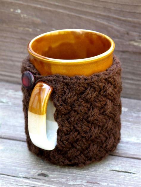 knitted mug cosy free pattern 1000 ideas about mug cozy pattern on coffee