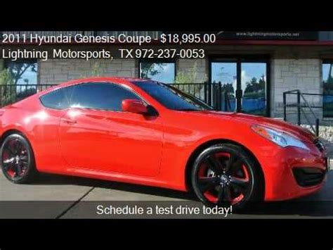 Hyundai Genesis Coupe 2 0t For Sale by 2011 Hyundai Genesis Coupe 2 0t Premium Auto For Sale In