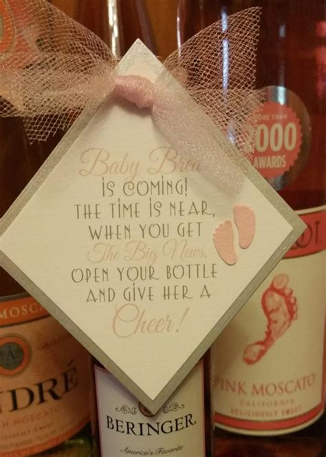 Baby Shower Favors Tags by 17 Best Ideas About Wine Bottle Tags On Wine