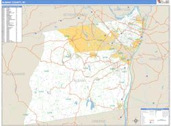 zip code map upstate ny albany county ny zip code wall map basic style by marketmaps