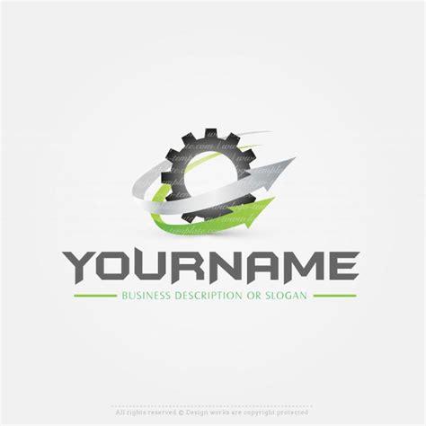 create  logo gear wheel logo template