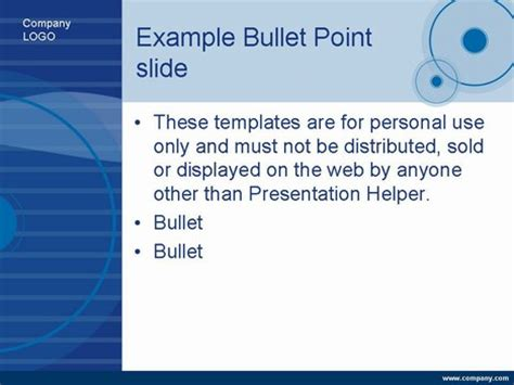 presentation magazine free powerpoint template blue compact disk