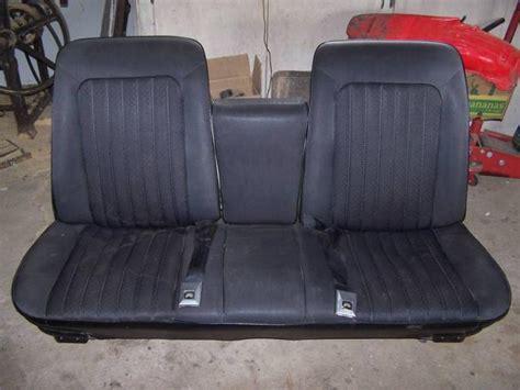 strato bench seat 67 strato bench restoration canadian poncho