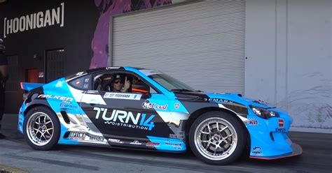 hoonigan drift cars dai yoshihara s subaru brz formula drift car meets