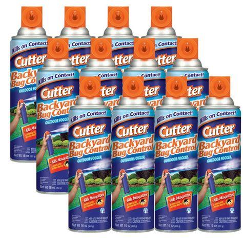 cutter 16 oz backyard bug control outdoor fogger 12 pack