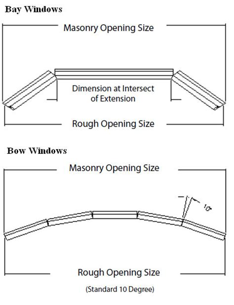 bow window sizes windows door sizes shapes golden windows