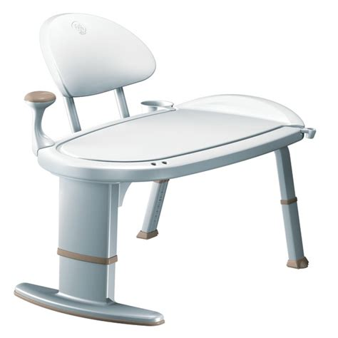 sliding bathtub transfer bench eagle health 37662 snap n save sliding tub transfer bench