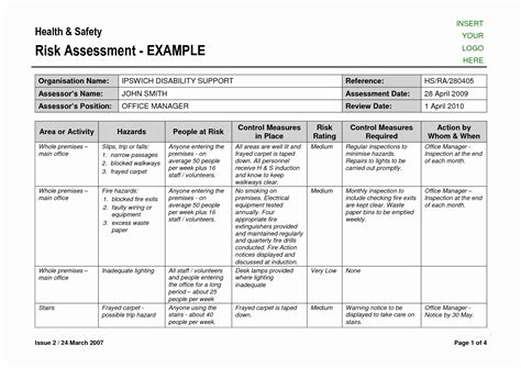 Nist Risk Assessment Template Awesome Physical Security Risk Assessment Report Template Awesome Nist Risk Assessment Report Template