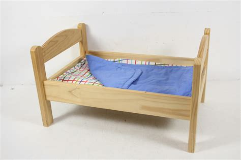 ikea doll bed ikea wood wooden doll toy bed with linen kitty american