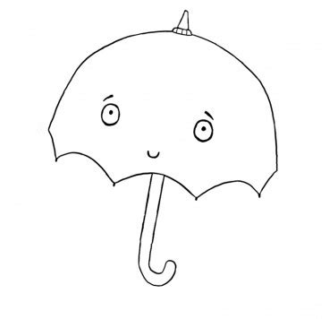 coloring pages sarah and duck colour in umbrella sarah duck make and colour