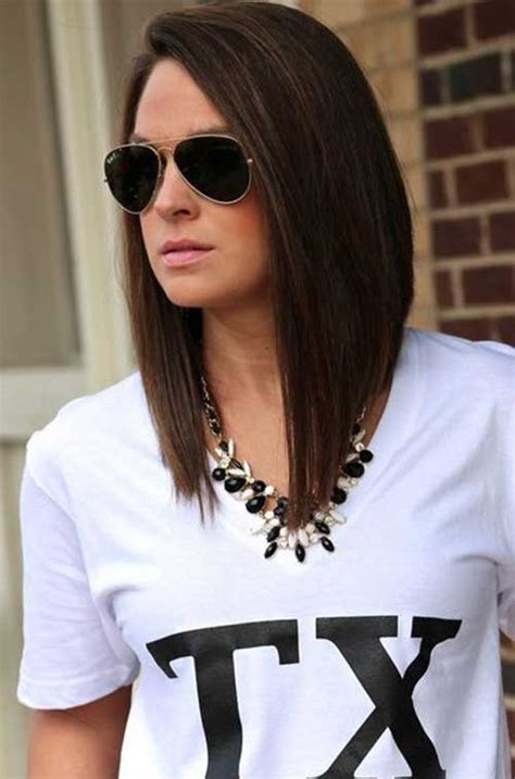 black hair color with a line cut 2015 27 long bob hairstyles beautiful lob hairstyles for