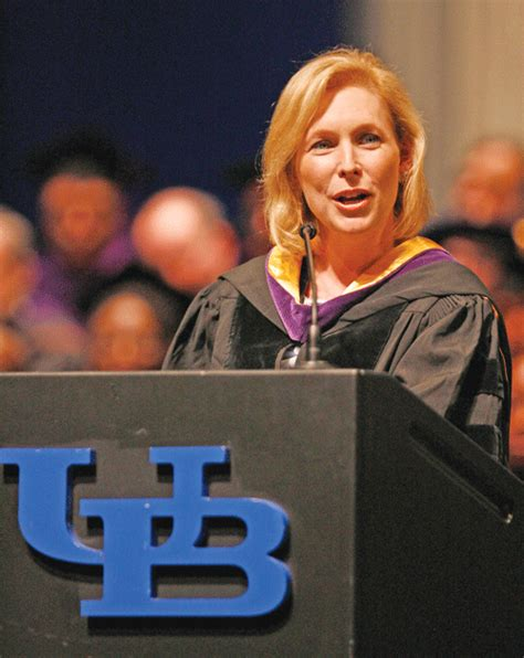 kirsten gillibrand record ub law commencement features sen gillibrand ny daily record