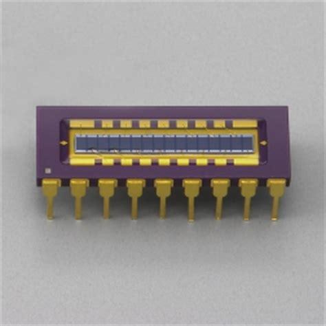 photo diode array si photodiode array s4111 16r hamamatsu photonics
