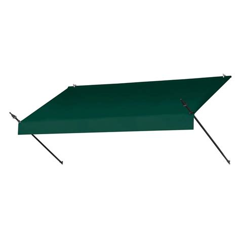 awnings in a box awnings in a box 4 ft traditional manually retractable awning 26 5 in projection