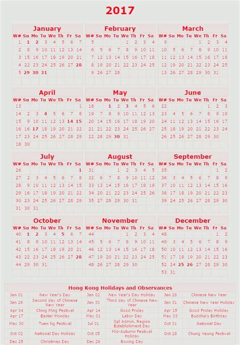 free printable calendar 2017 hong kong holidays calendar 2017