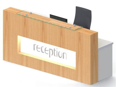Compact Reception Desk Reception Desk Expression Xcp Compact Reality