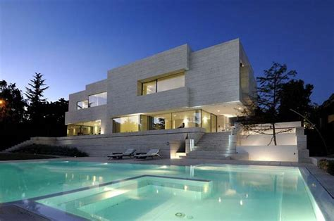 Modern House With Pool luxury villa in spain by a cero