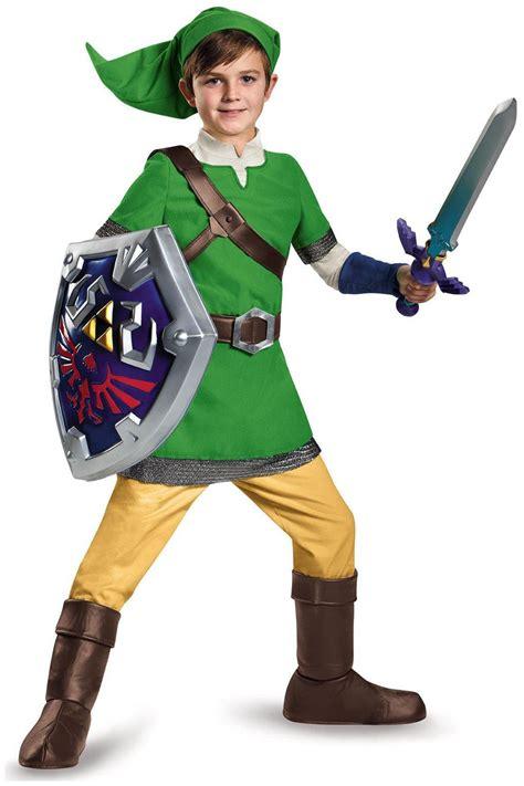 child link prestige costume the legend of zelda link deluxe child costume partybell com