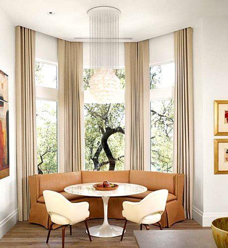 how to arrange furniture around a bay window 5 ideas