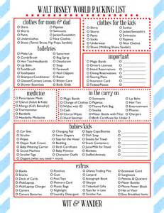 World Rides List Free Printables Wit Wander