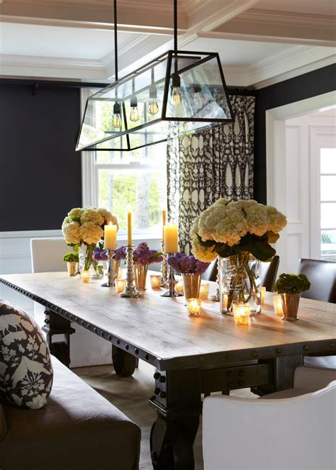 Photos Hgtv Industrial Dining Room Lighting