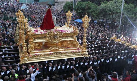 imagenes lunes santo malaga itinerarios de las procesiones del lunes santo 2015 sur es
