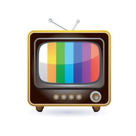 tv free retro television icon vector free