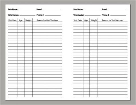 pet health record template pet health record template 28 images puppy records