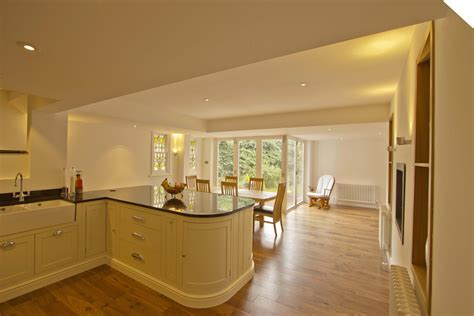 Open Kitchen And Dining Room by 187 Honor Oak Park