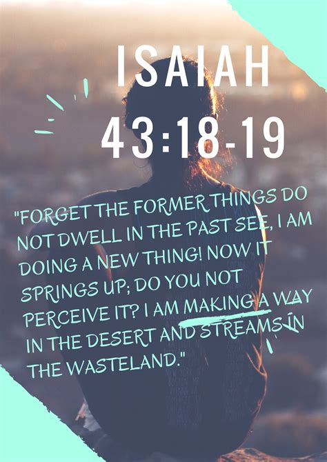19 new how do you daily dose of scripture isaiah 43 18 19 quot do you see god