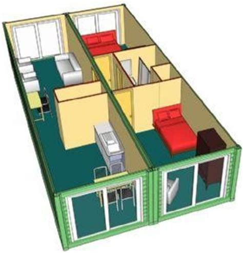 Container Office Portac 40 Ft 6 40 ft portable container house qingdao xinguangzheng