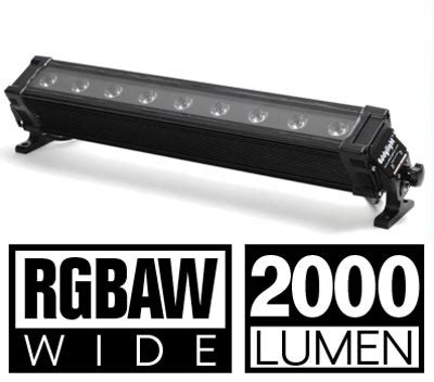 brightest led light bar the wall washer brightest led light bar rgbaw