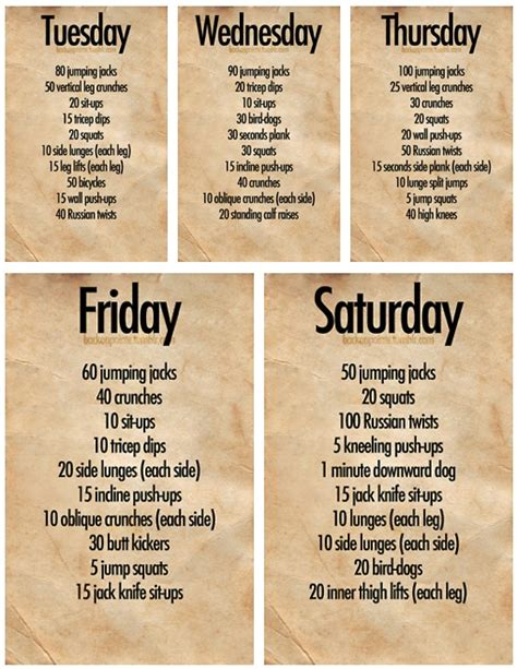 work out plans for home weekly workout fitness pinterest gossip news