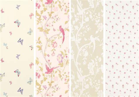 abbeville floral wallpaper pink natural laura ashley summer palace wallpaper wallpapersafari