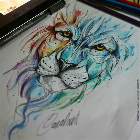 lotus tattoo parlor 1000 ideas about watercolor lion tattoo on pinterest
