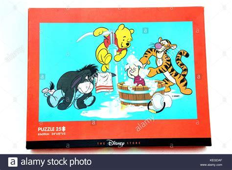 The Pooh Jumbo Disney Winnie The Pooh Jumbo Puzzle Stockfoto Bild