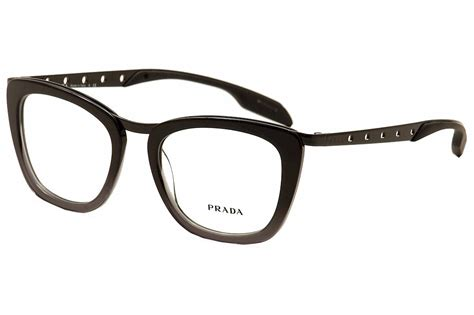 prada s eyeglasses vpr60r vpr 60r tv7 1o1 black grey