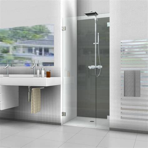 nischenduschen und duschabtrennungen f 252 r nischen aus glas - Schiebetüren Aus Glas Für Innen