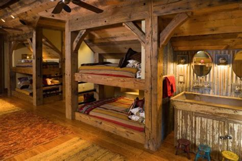 timber bunk beds 22 bunk beds for four a space saving solution for shared