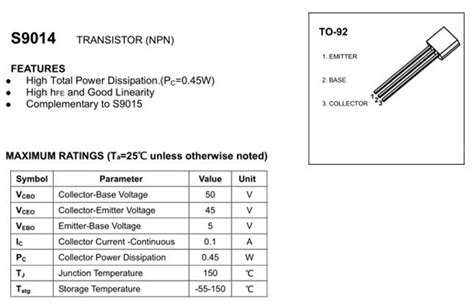 a1013 transistor replacement transistor s9014 equivalent 28 images transistor c945 similar 28 images circuit of pre mic