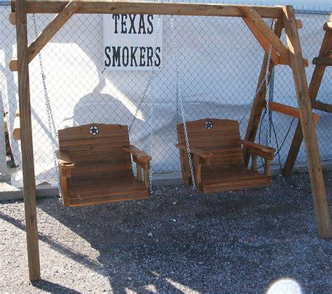 wooden swing frames adults cedar creek woodshop porch swing patio swing picnic